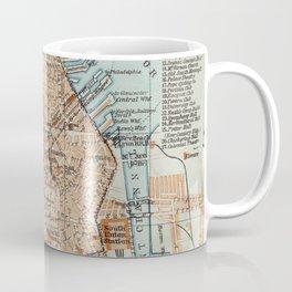 Vintage Map of Boston MA (1906) 2 Coffee Mug