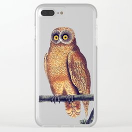 Cayenne Owl Clear iPhone Case