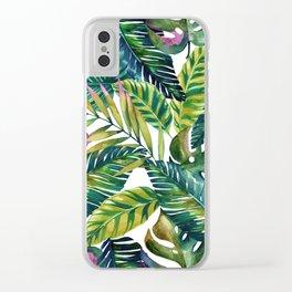 banana life Clear iPhone Case