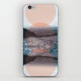 Blue Denny iPhone Skin