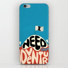 I Need An Adventure iPhone Skin