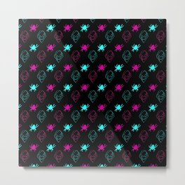 Spider-Gwen Pattern Metal Print