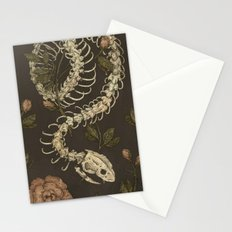 Snake Skeleton Stationery Cards