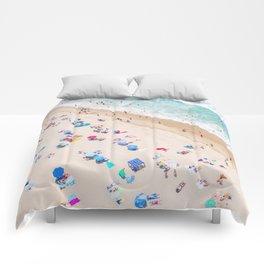 Colors of Manhattan Beach California Comforters