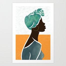 WOMAN, PHENOMENALLY. Art Print