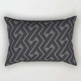 Chromosome Petrol Grey ed. Rectangular Pillow