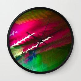 Rockstar Crosshairs Wall Clock