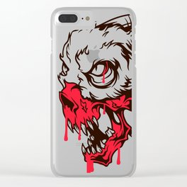 Evil - Demon Clear iPhone Case