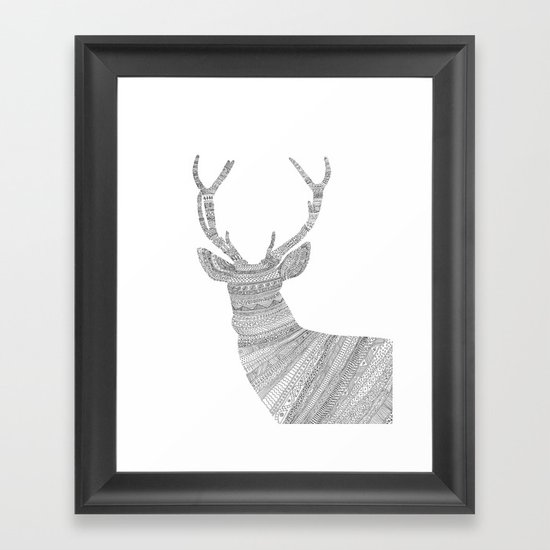 Stag / Deer Framed Art Print
