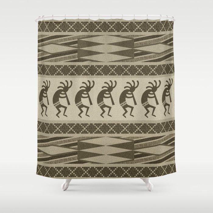 Southwest Kokopelli Shower Curtain By Macdesigns1