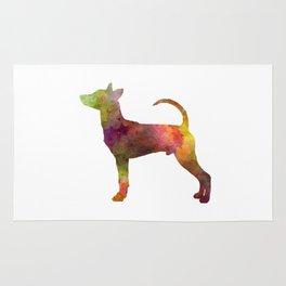 Taiwan Dog in watercolor Rug