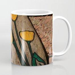 Driftwood flowers Coffee Mug