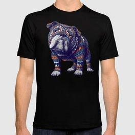 English Bulldog (Color Version) T-shirt