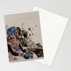 BRONX BOXING BOYS - sepia/blue version Stationery Cards