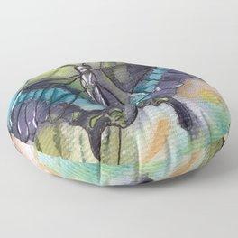Butterfly Bamboo Floor Pillow