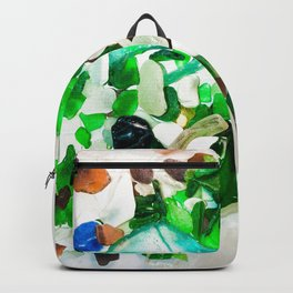 Beach Glass Backpack