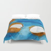 coco Duvet Covers featuring Coco by Cro_Ki