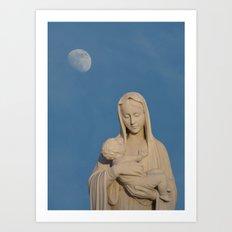 Loving Mother Art Print