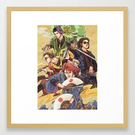 Japanese Killjoys Framed Art Print