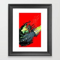 Ode to Joy - Color Framed Art Print