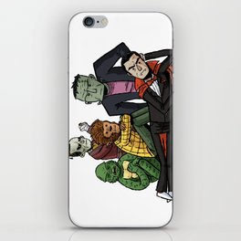 The Universal Monster Club iPhone Skin