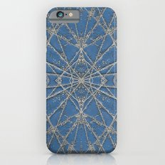 Snowflake Blue iPhone 6s Slim Case