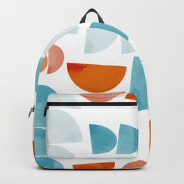 Half Moons Pattern Backpack