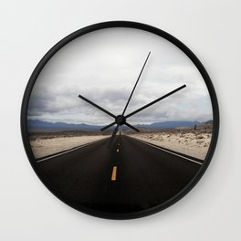 Roadtrips are always a good idea Wall Clock