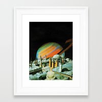 religion Framed Art Prints featuring The religion  by Hugo Barros