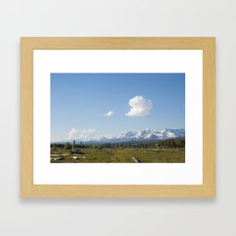 Barren and Few Framed Art Print