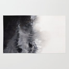 Watercolor abstract landscape 16 Rug