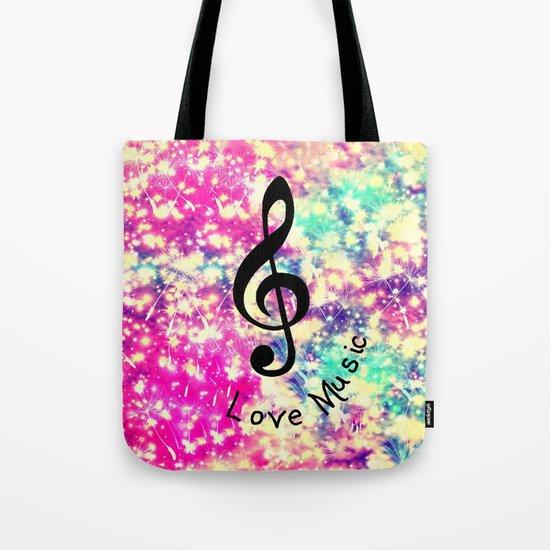 Music-294 Tote Bag