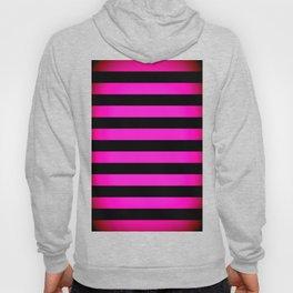 Stripes Pink & Black Hoody