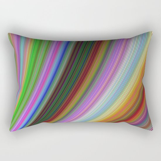 Bend Rectangular Pillow