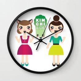 Alexandra et Kim! Wall Clock