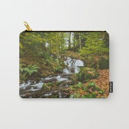 Waterfall to Lake Windermere at Millerground Landing. Lake District, UK. Carry-All Pouch