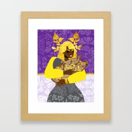Year of the Pig Chinese Zodiac Framed Art Print