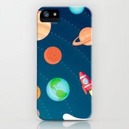 Space Foam iPhone Case