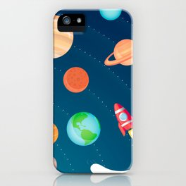 Space Foam iPhone Case
