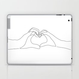 Hand Heart Laptop & iPad Skin