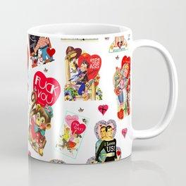 SISSYDUDE UNCUT VALENTINE CARDS Coffee Mug