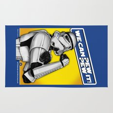Stormtrooper: 'WE CAN PEW-PEW IT!' Rug