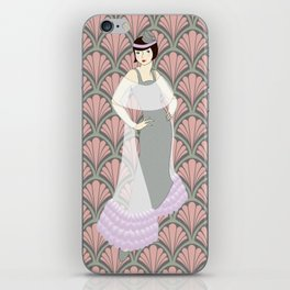 Flapper ready for the new Roaring Twenties! (9) iPhone Skin
