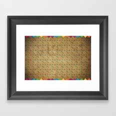 Mexican Pattern Framed Art Print