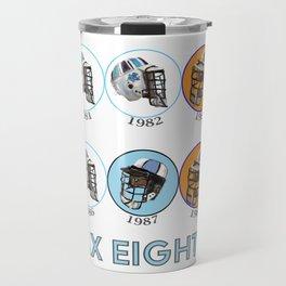 Lax Eighties Travel Mug
