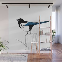 Pica Pica Wall Mural