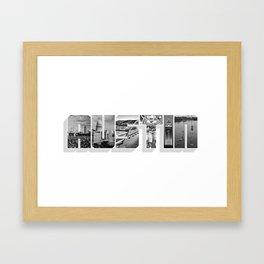 Austin, Texas Framed Art Print