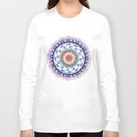 mandala Long Sleeve T-shirts featuring Mandala by famenxt