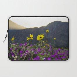 Wildflower Sunset Laptop Sleeve