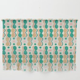 Uende Cactus - Geometric and bold retro shapes Wall Hanging